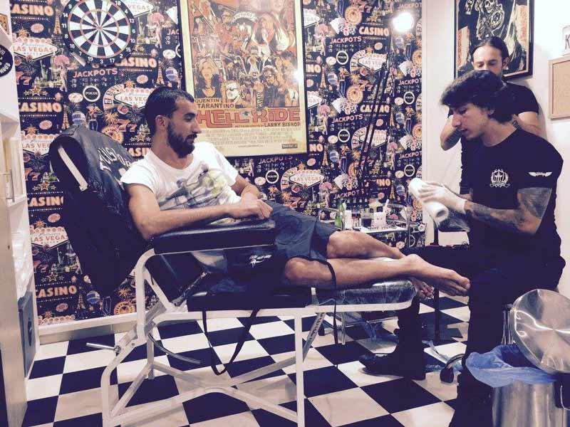 Mehmet Topal Dövme Çalışması