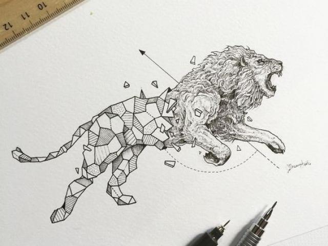 geometrik-aslan-dovmesi-geometrik-dovme-modelleri-min