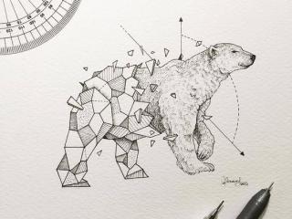 geometrik-kutup-ayı-dovmesi-geometrik-dovme-modelleri-min