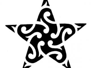 maori-yildiz-dovme-modeli