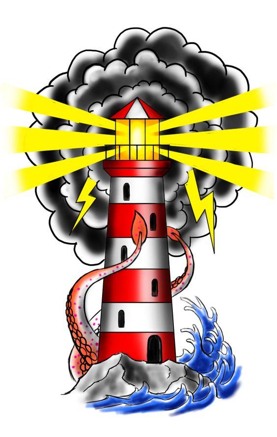 new-school-deniz-feneri-dovme-modeli