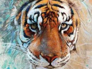 sulu-boya-water-color-kaplan-aslan-modeli