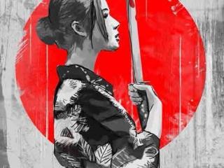 yakuza-savasci-kadin-dovme-modeli